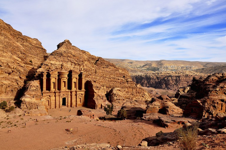 The Monastery at Petra © Salil Wadhavkar