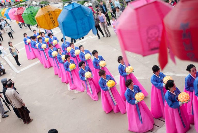Lotus Lantern Festival | © Thomas Park / Flickr