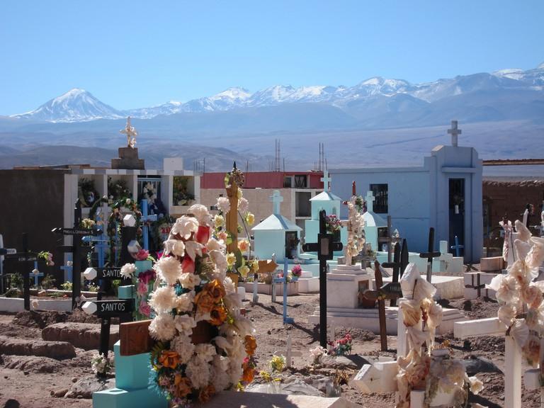 San Pedro de Atacama, cementerio courtesy of Luxbao