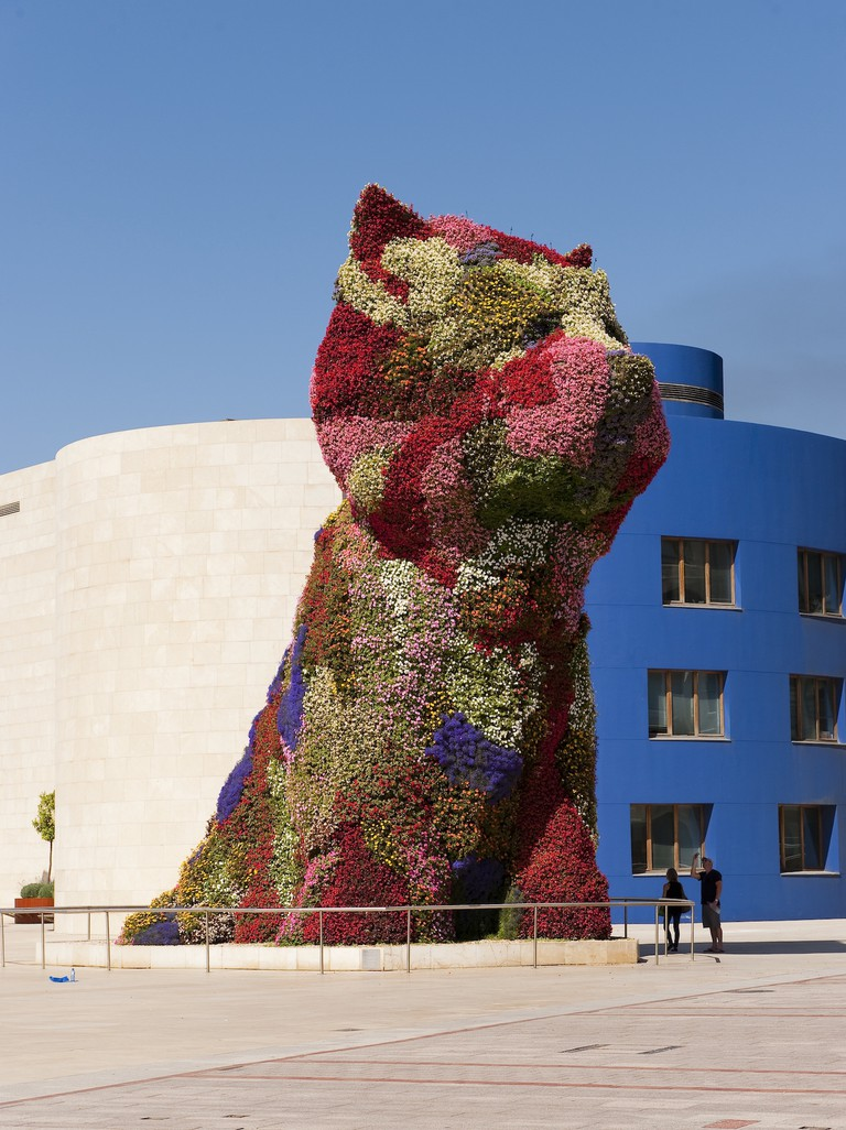 Puppy by Jeff Koons | Guggenheim Museum Bilbao
