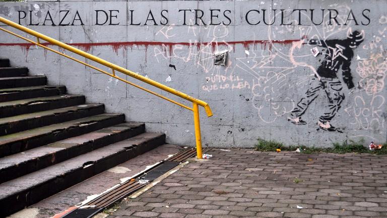 Plaza de las Tres Culturas in Tlatelolco | © katiebordner/Flickr