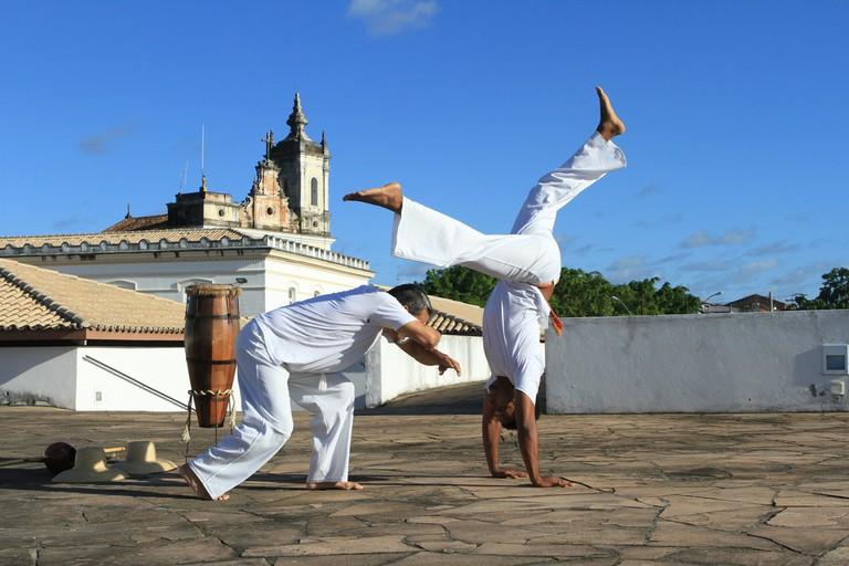 Capoeira / © Tatiana Souza / Flickr
