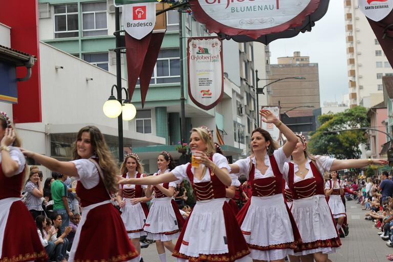 Oktoberfest in Blumenau |© Vitor Pamplona/Flickr