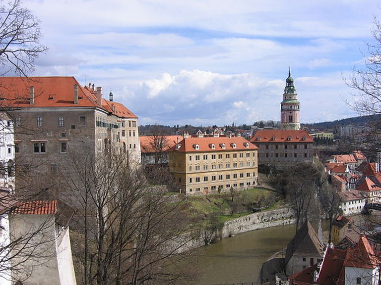 Cesky Krumlov has one of the largest castles in the country / ©Norbert Aepli / Wikimedia Commons