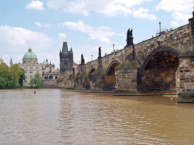 View of Charles Bridge | ©Besenbinder / Wikimedia Commons