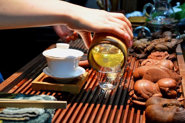 Chinese Tea Ceremony | ©David Bote Estrada/Flickr