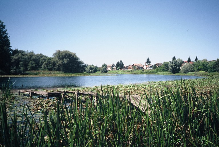 River and village in Lonjsko Polje Nature Park, Croatia © Gerhard Heiss/Flickr