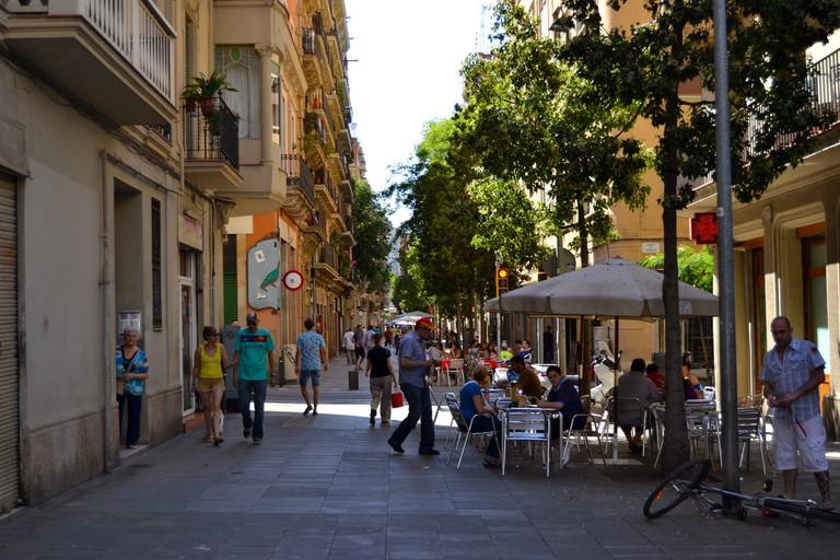 Carrer Blai in poble Sec © Oh-Barcelona.com