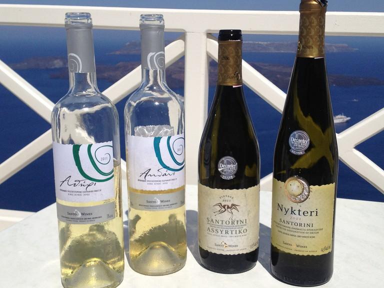 White Wines of Santorini| © Jameson Fink/Flickr