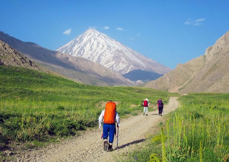Hike to Damavand |© Mahdi Kalhor / Wikimedia Commons