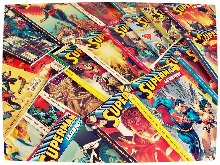Comics | © Wes C/Flickr
