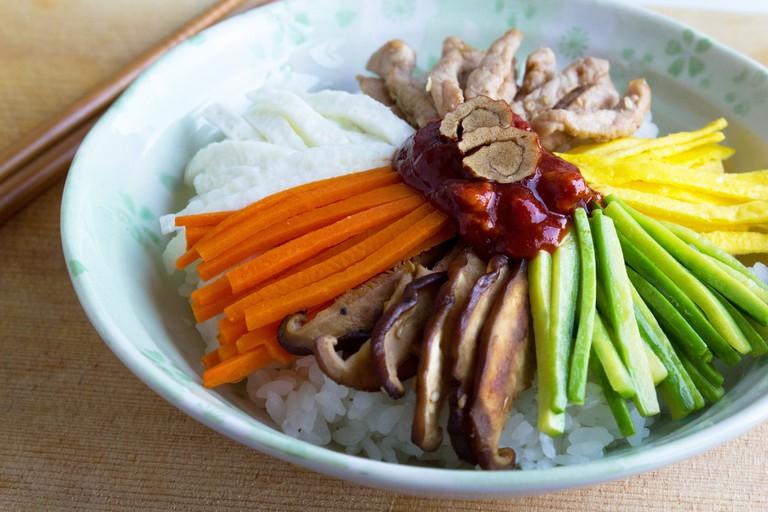 Bibimbap, Jeonju's crowning culinary gem | © Chloe Lim / Flickr