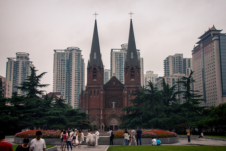 Xujiahui Cathedral Now | ©jo.sau/Flickr