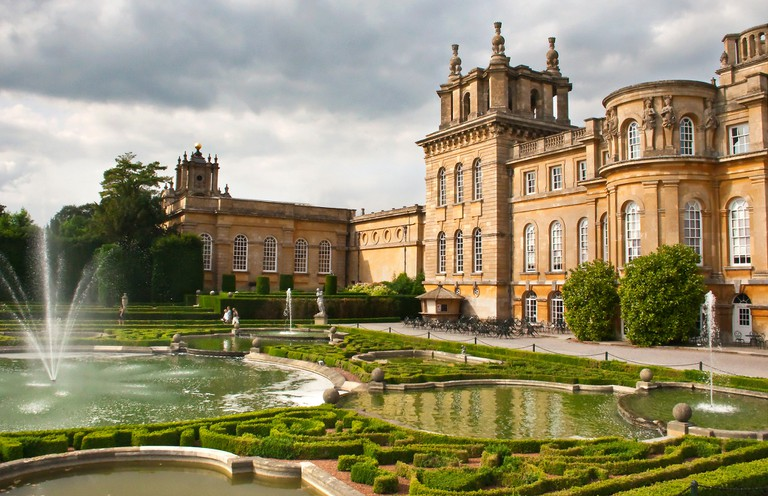 Blenheim Palace and Formal Gardens   © Sheila Sund / flickr