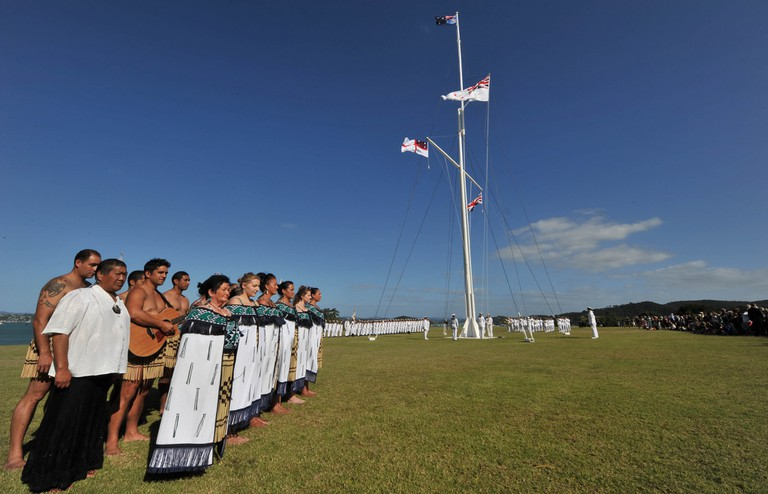 Waitangi ceremonials | © Royal New Zealand Navy/Flickr