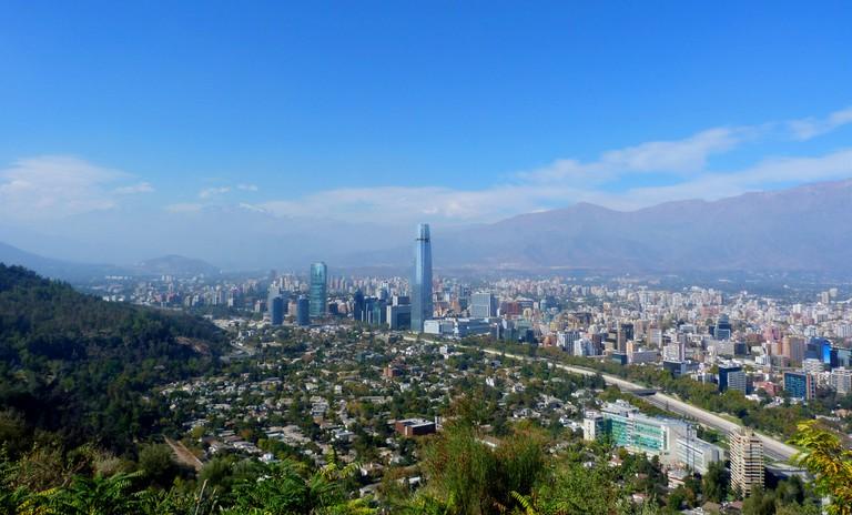 Panorámica de Santiago © Gonzalo Baeza