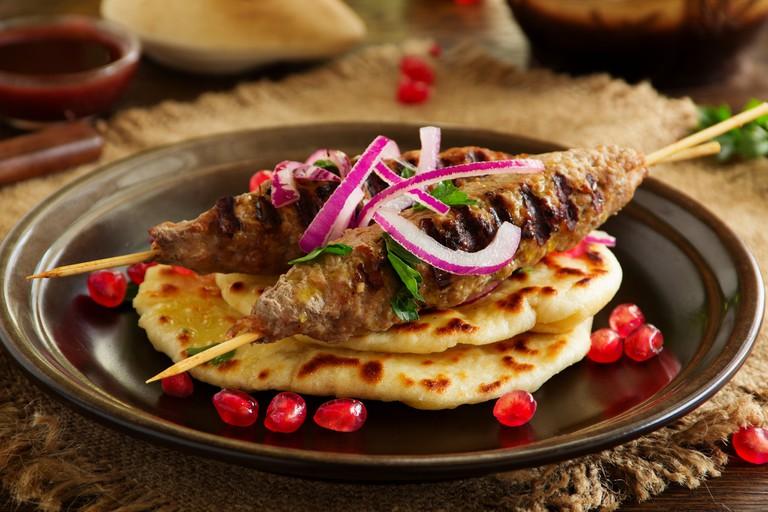 Lamb Kebabs | ©Lesya Dolyk / Flickr flickr.com/photos/128268906@N07/17002299881