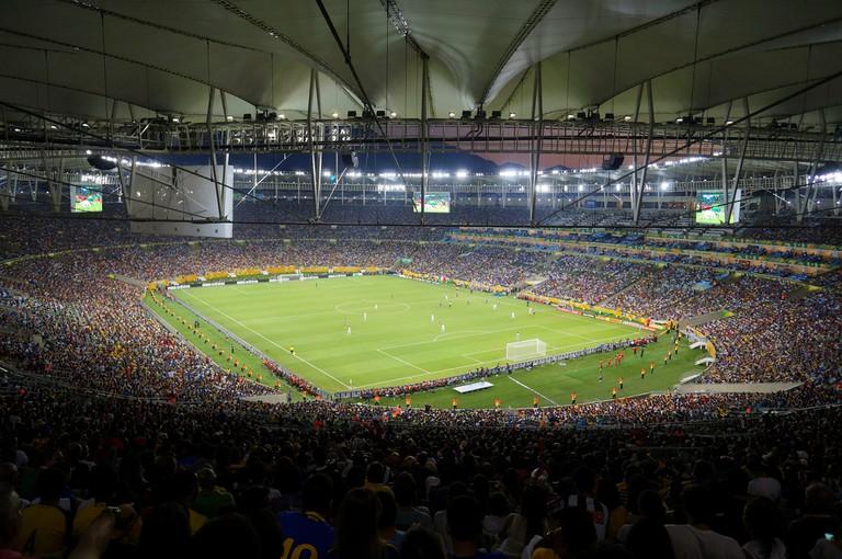 The Maracanã stadium |© Leandro Neumann Ciuffo/Flickr