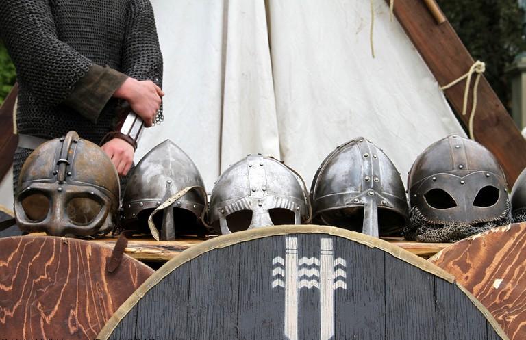 Viking armour | ©Helgi Halldórsson / Flickr