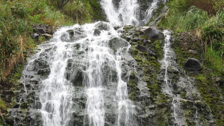 Karekare Falls, Waitakere Ranges   © Robert Linsdell/Flickr