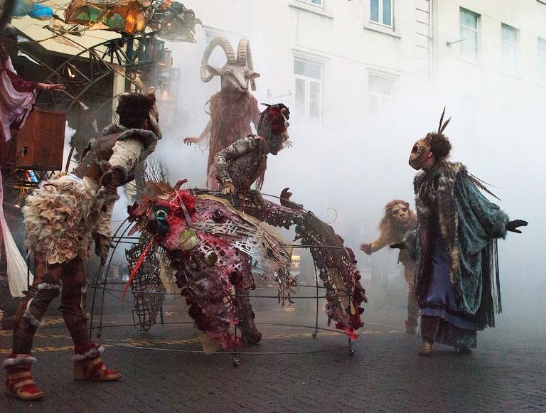 Macnas Street Parade at Kilkenny Arts Festival | © David Bergin/Flickr
