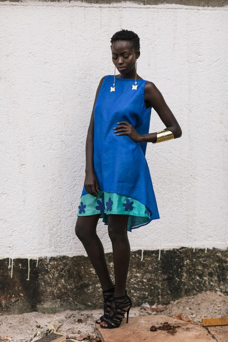 A model shocases a Deepa Dosaja design | Courtesy of Deepa Dosaja