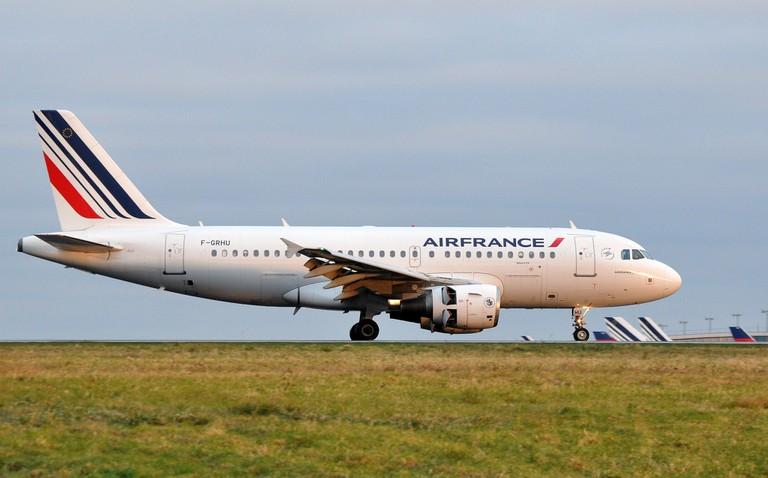 Air France plane at Charles de Gaulle │© ERIC SALARD / Flickr