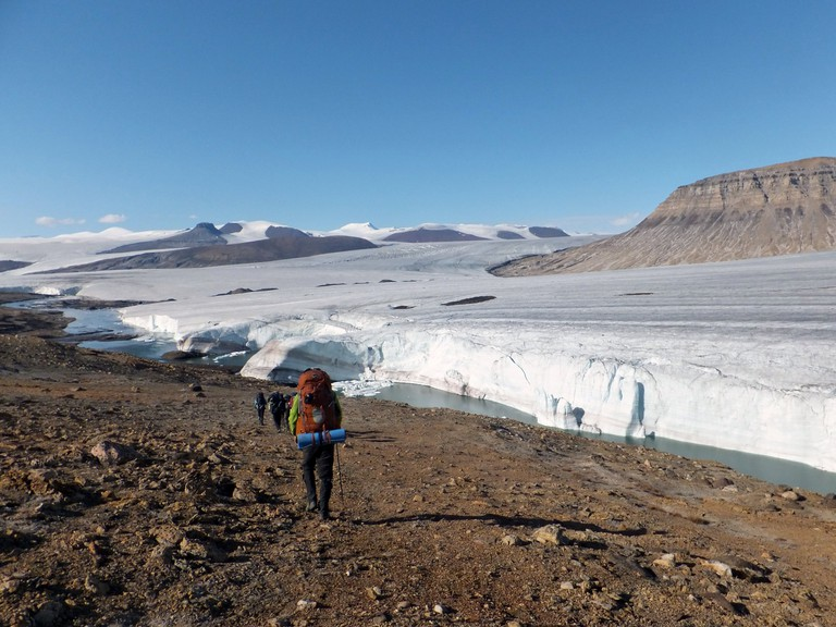 Air Force Glacier in Quttinirpaaq National Park | © Wikimedia Commons