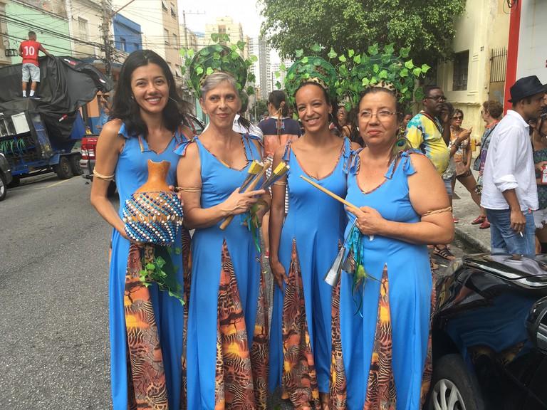 Alzira Freire in Ilu Oba de Min Carnival © Lise Alves