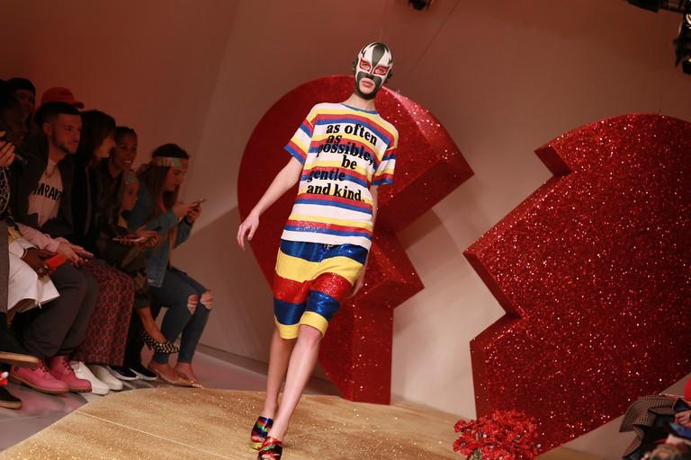 Ashish AW17, FOH | © British Fashion Council, Charlie Wheeler