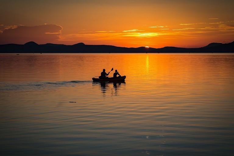 Lake Balaton sunset