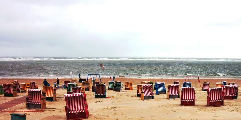 A beach in Friesland | © Pixabay