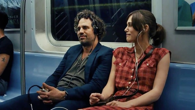 Mark Ruffalo and Keira Knightley in 'Begin Again' | Courtesy of Entertainment One