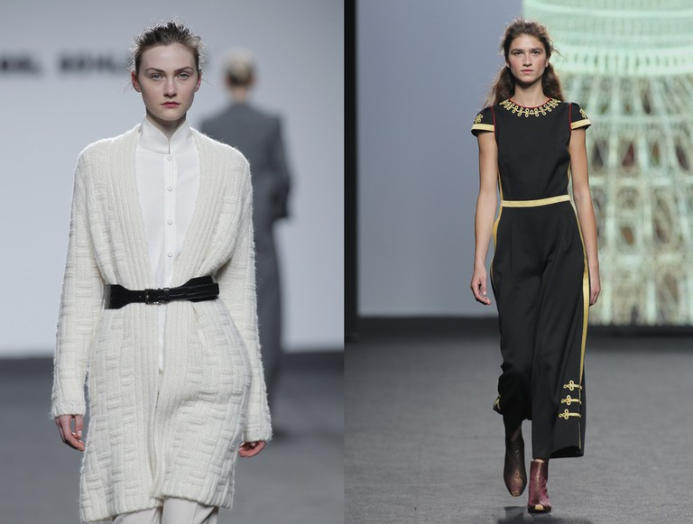 Belted trends by Angel Schlesser (left) and Teresa Helbig (right) | © Foto Ugo Camera/IFEMA