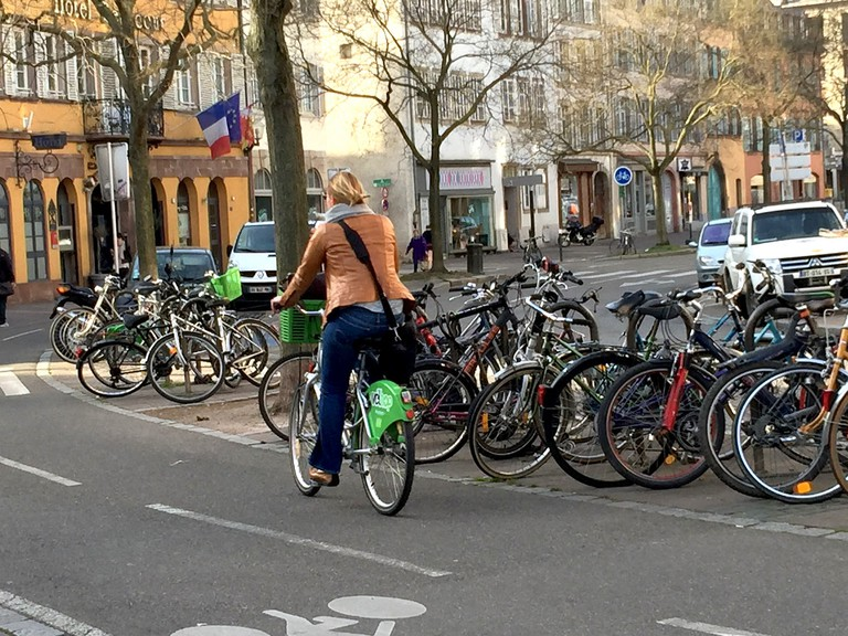 Bike is a daily form of transport for the residents of Strasbourg ©Claudia Brauer/Flickr