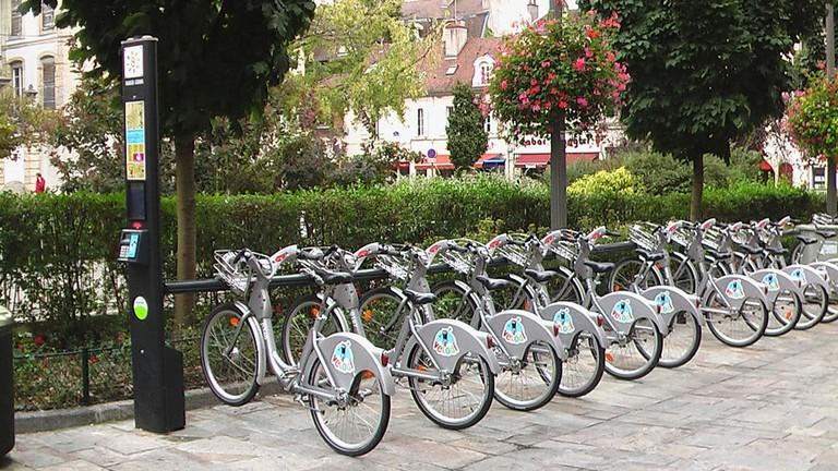 Velodi bike-share system in Dijon ©Erkethan/WikiCommons