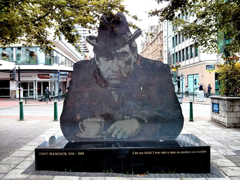 Birmingham's Tony Hancock statue