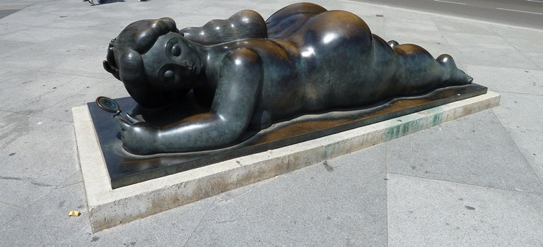 One of Madrid's Botero masterpieces