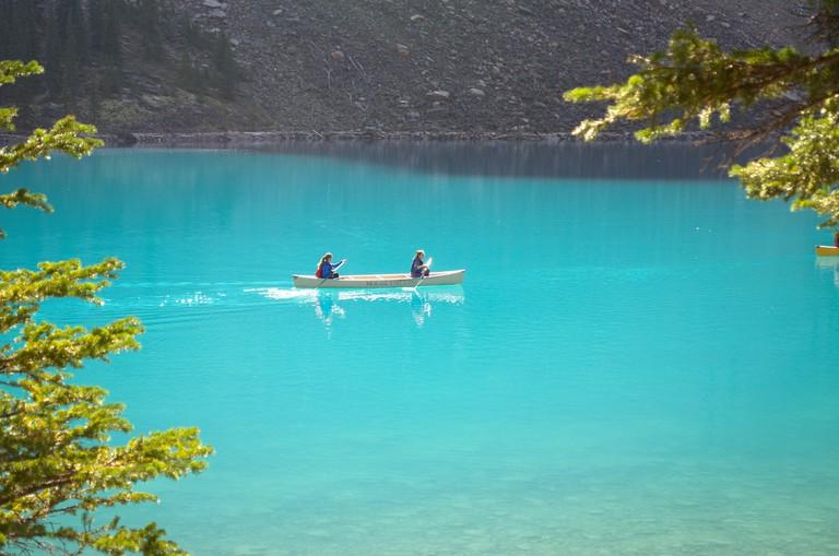 Beautiful Bow Lake in Banff | © Amit Shah / Flickr