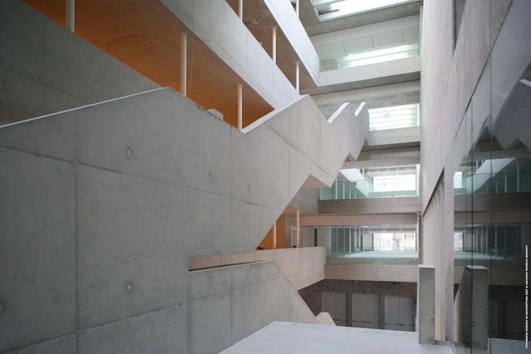 Universita Luigi Bocconi by Grafton Architects   © Brunetti/Courtesy of Grafton Architects