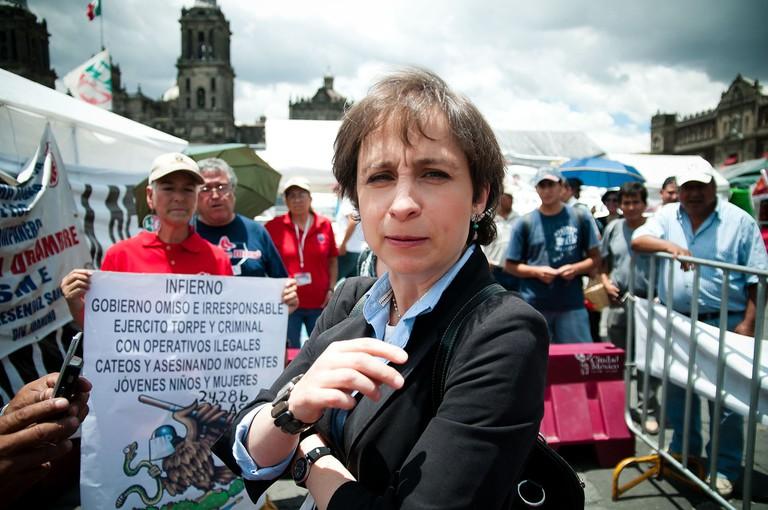 Carmen Aristegui | © Eneas De Troya/WikiCommons