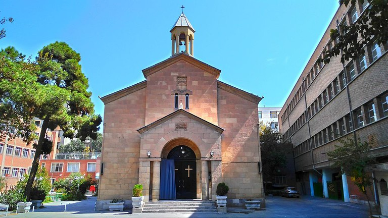 Holy Mary Church on Si-e Tir Street | © Azadi68 / Wikimedia Commons