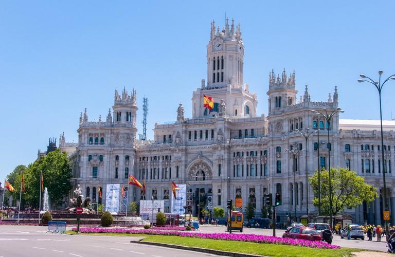 Cibeles Palace, one of the symbols of the city of Madrid| ©Maks Ershov/Shutterstock