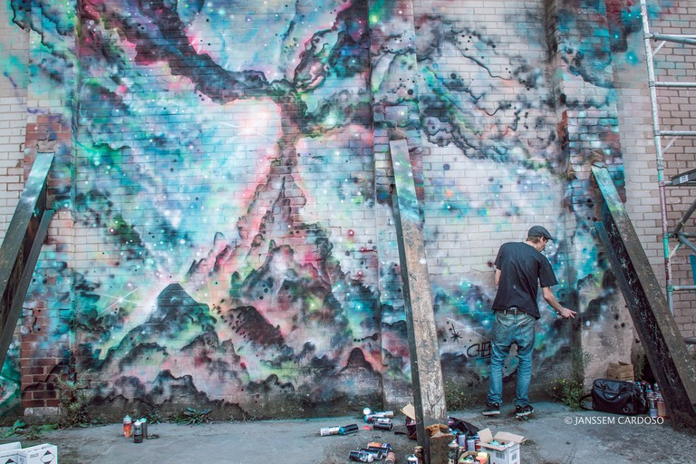 City of Colours street art festival Birmingham