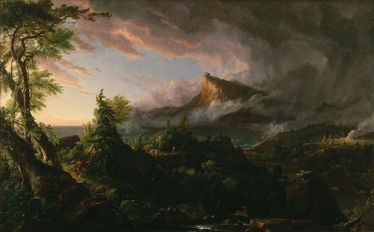 Thomas Cole, 'The Course of Empire: The Savage State' (1836)   Creative Commons