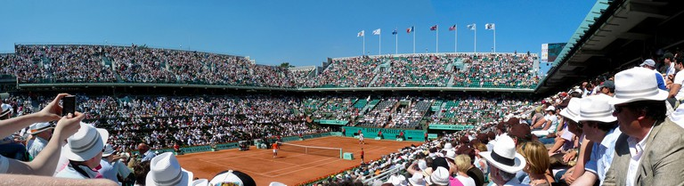 Court Philippe Chatrier at Roland Garros │© Yann Caradec / Flickr