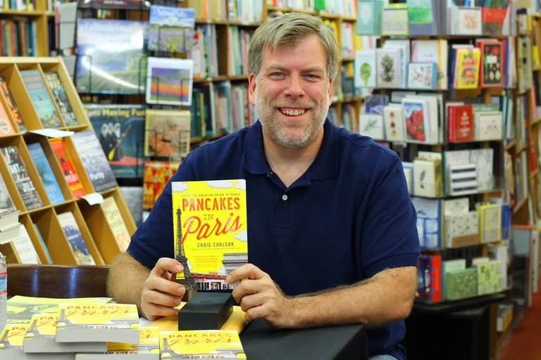 Craig Carlson on the Santa Barbara leg of his book tour │ Courtesy of Breakfast In America