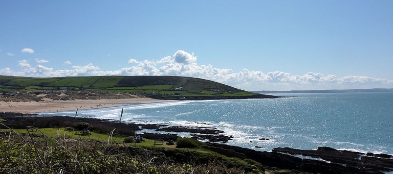Croyde Bay ©Becks/Wikimedia UK