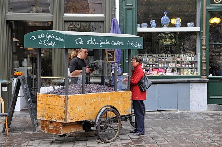 Cuberdons on the Groentenmarkt | © FaceMePLS / Flickr