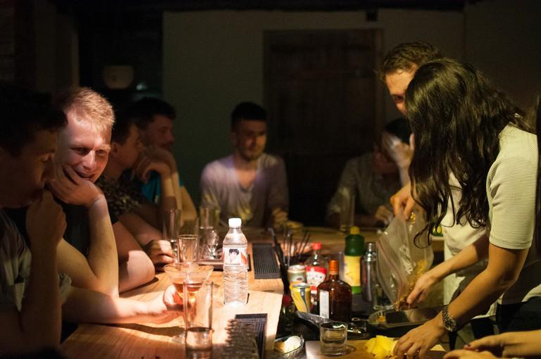 Patrons enjoy baijiu at the bar Capital Spirits | © Capital Spirits / Flickr